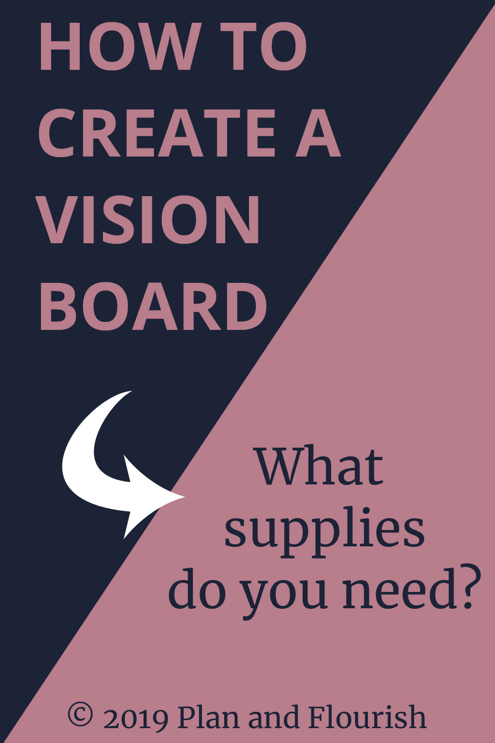 What Supplies Do You Need To Create A Vision Board?