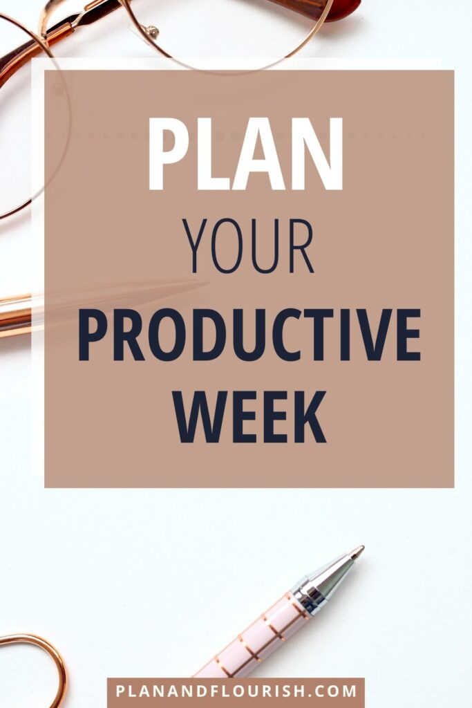 Plan Your Productive Week