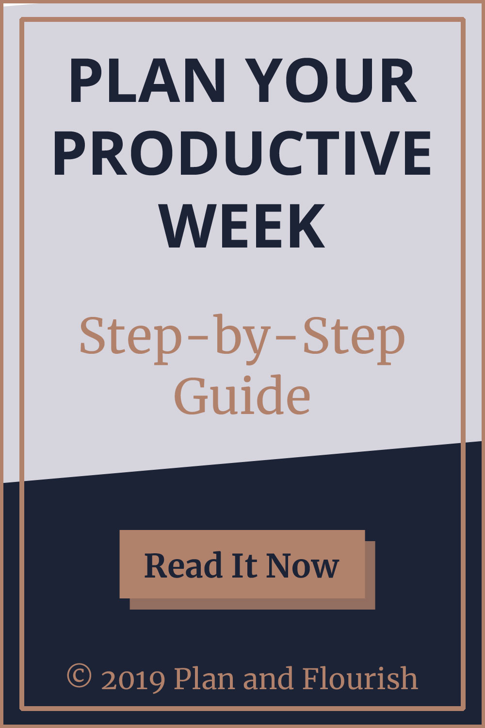 Get your step-by-step guide to planning your productive week | Read it now!