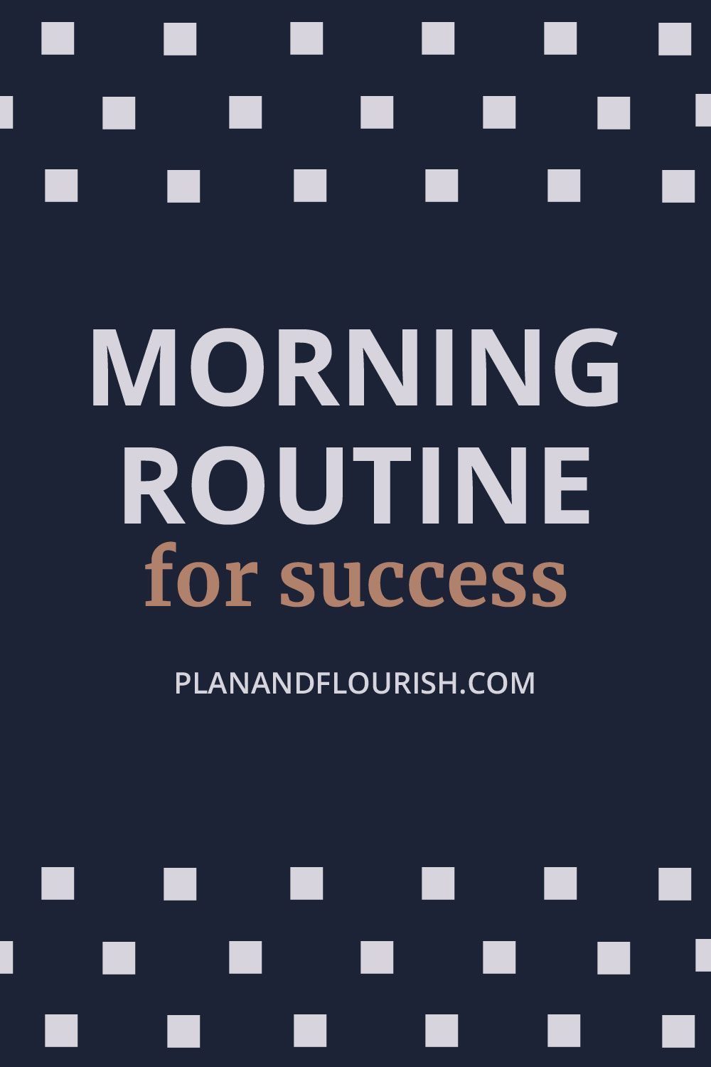 Do you want a successful morning routine? | Click To Read