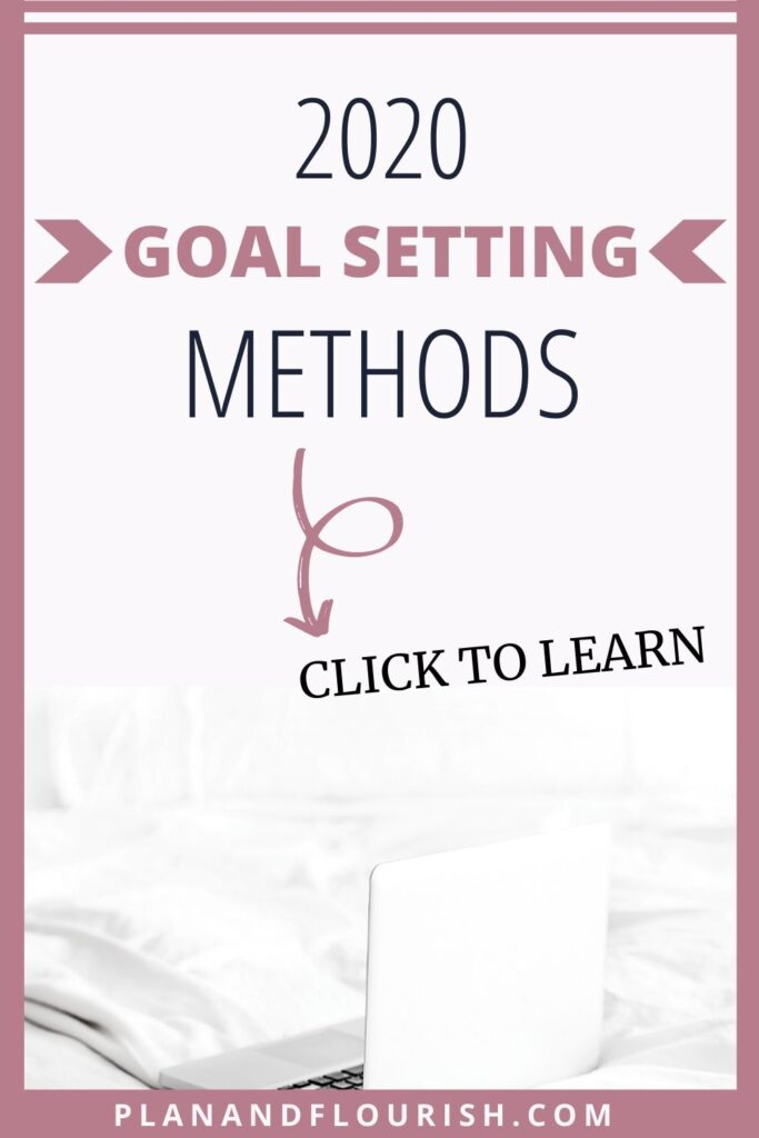 2020 Goal Setting Methods