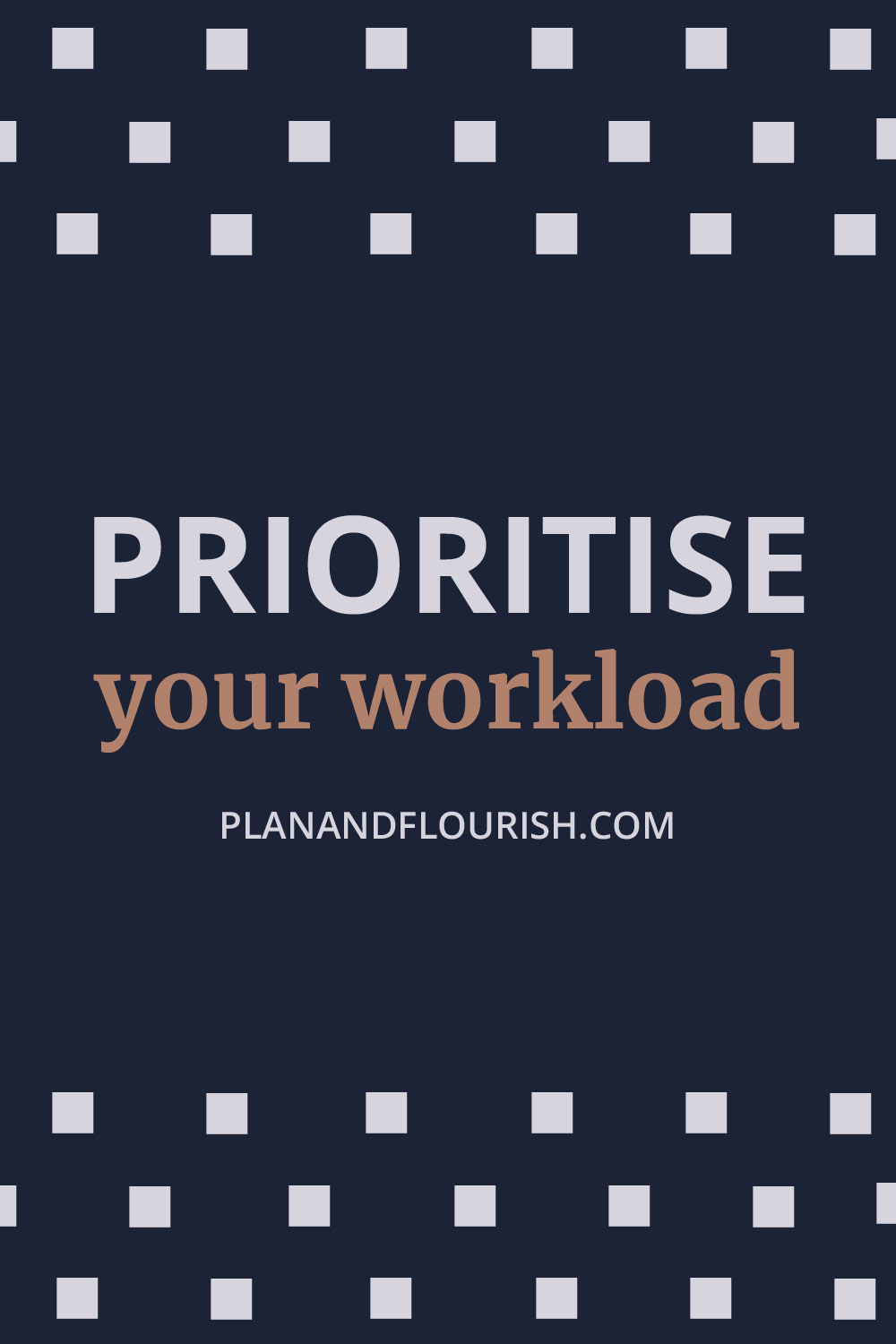 Prioritise Your Workload | Read It Now